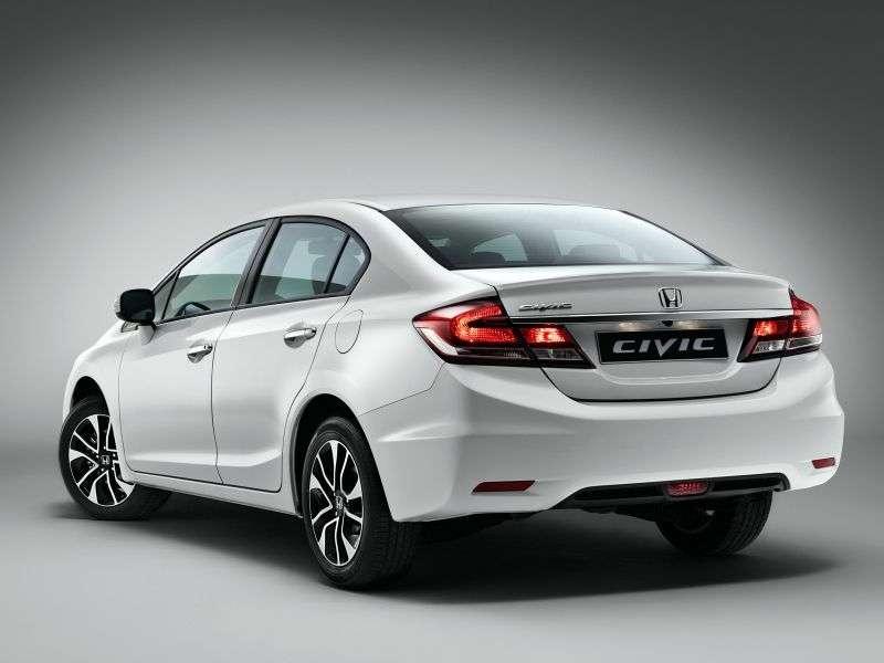 Honda Civic 9th generation [restyling] 1.8 AT Lifestyle sedan (2013 – n.)