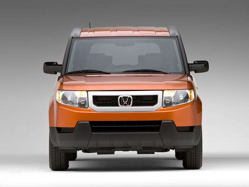 Honda Element 1st generation [2nd restyling] 5 bit crossover 2.4 MT 4WD (2008–2010)
