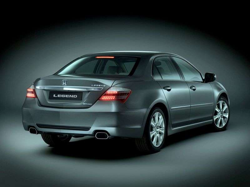 Honda Legend 4th generation [restyling] 3.7 AT sedan (2008–2010)