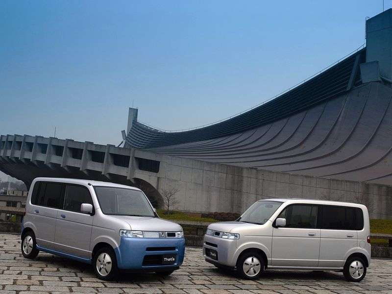 Honda Thats the 1st generation minivan 0.7 AT Turbo (2002–2006)