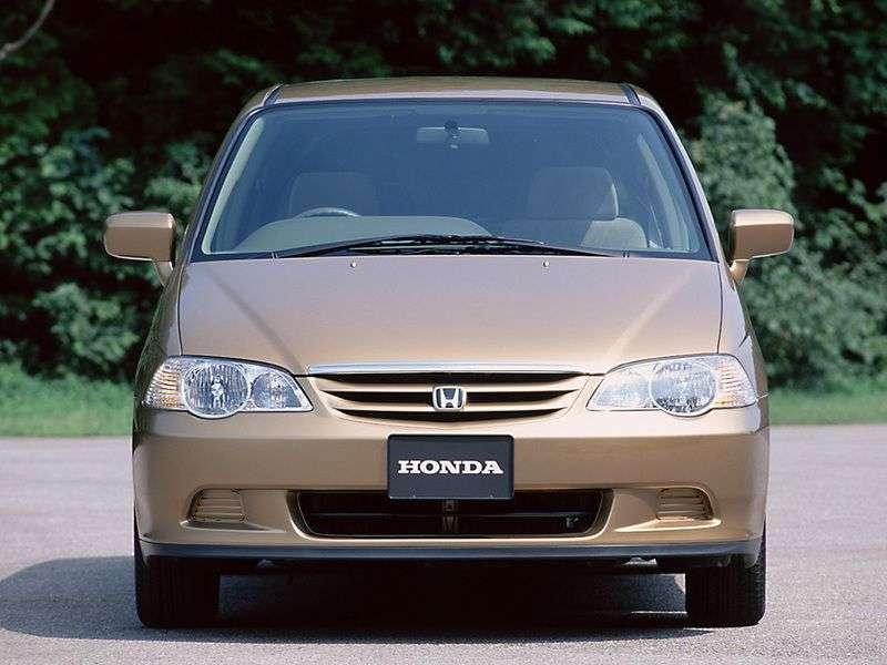 Honda Odyssey 2nd generation minivan 2.3 MT 4WD (1999–2004)