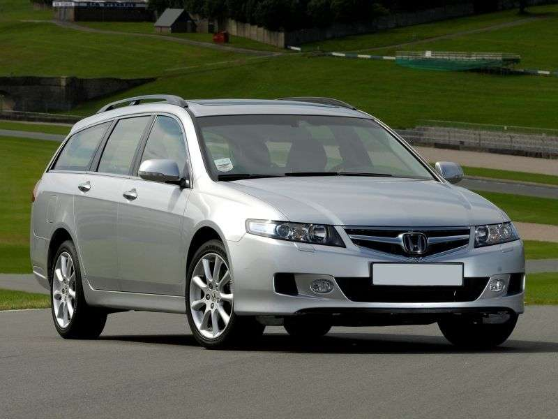 Honda Accord 7 generation [restyling] Tourer wagon 2.2 TDI MT (2006–2008)