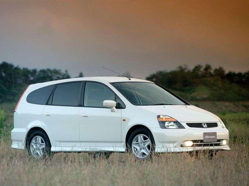 Honda Stream 1st generation 2.0 MT minivan (2001–2003)