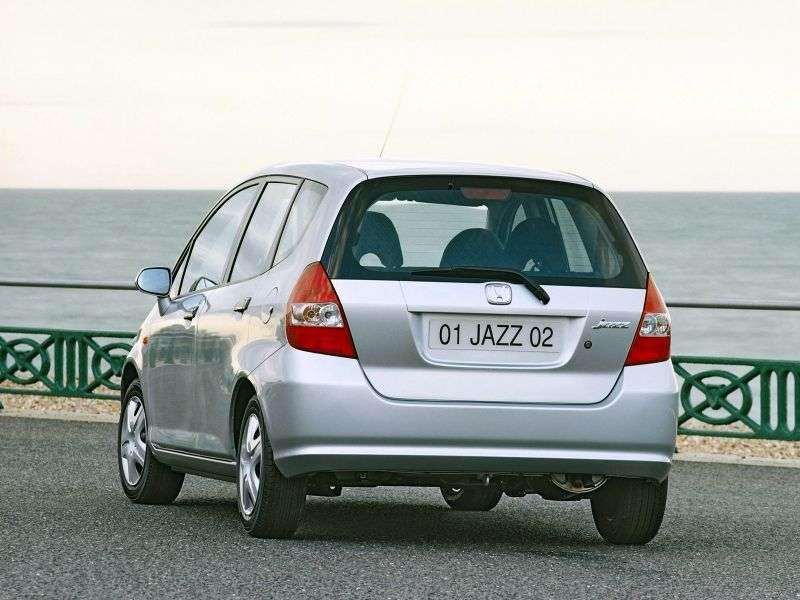 Honda Jazz 1 generation hatchback 1.2 MT Elegance (2001–2004)
