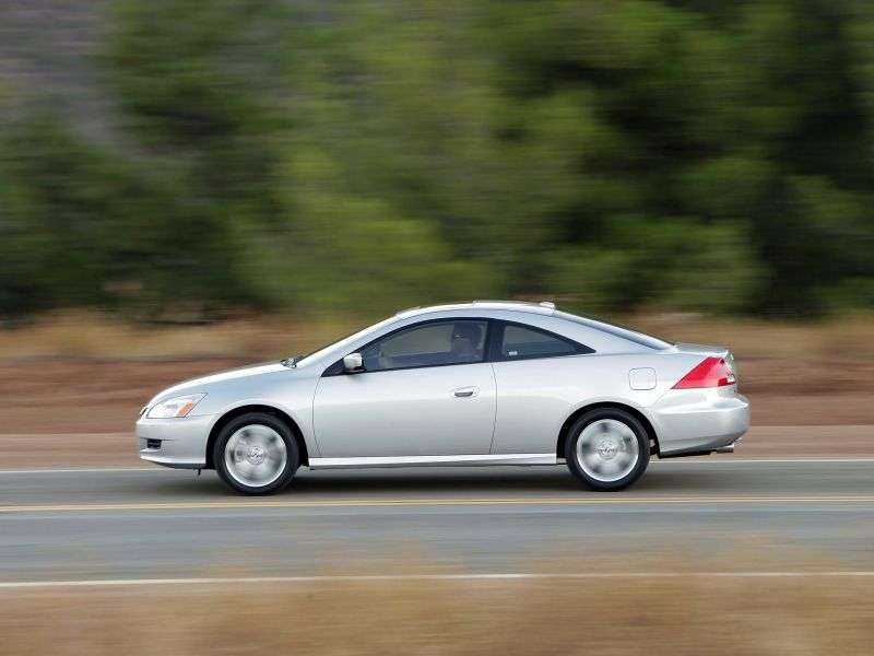 Honda Accord 7 generation [restyling] US spec coupe 2.4 MT (2006–2007)