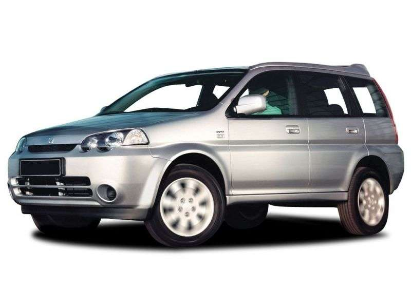 5 drzwiowy crossover Honda Hr V 1. generacji [zmiana stylizacji]. 1.6 CVT 4WD (2001 2006)