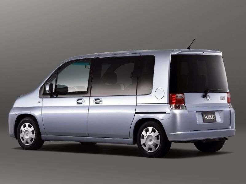 Honda Mobilio 1st generation [restyled] minivan 1.5 CVT (2004–2008)