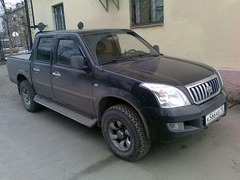HuangHai Antelope 1st generation pickup 2.2 MT RWD (2006 – n.)