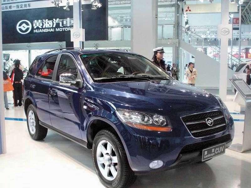 HuangHai Landscape 1.generacja 2.4 MT 2WD crossover (2007 obecnie)