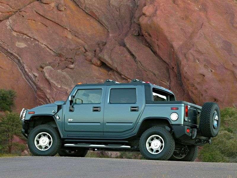 Hummer H2 1st generation SUT pickup 6.2 AT (2007–2009)