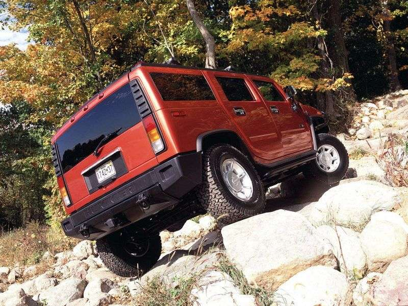 Hummer H2 1st generation SUV 6.2 AT (2007–2009)