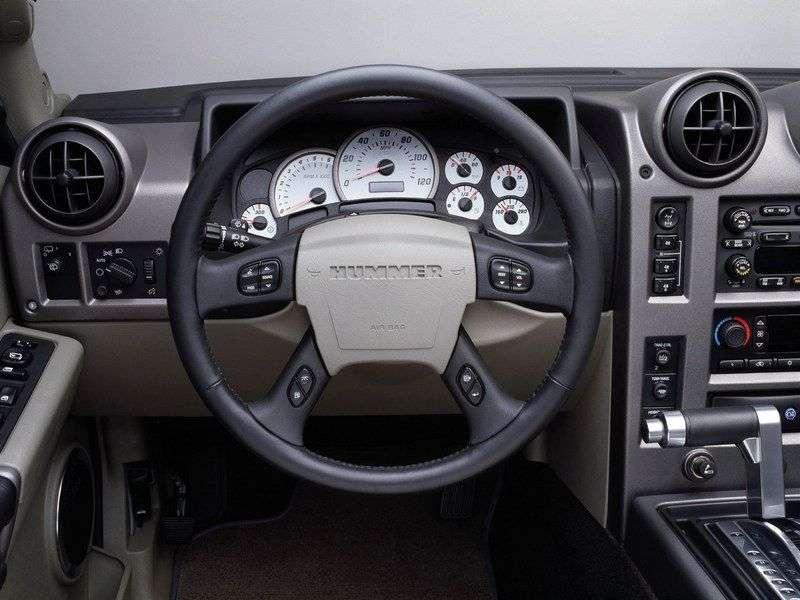 Hummer H2 1st generation SUV 6.0 AT (2002–2007)