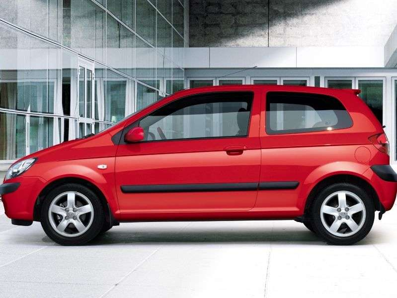 Hyundai Getz 1 generation hatchback 3 dv. 1.3 AT (2002–2005)
