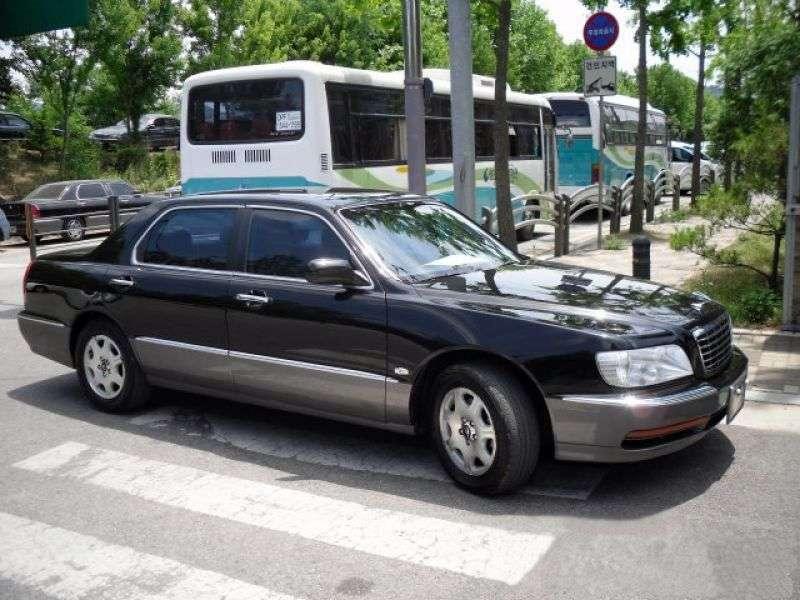 Hyundai Centennial 1st generation sedan 3.5 AT (2003–2003)
