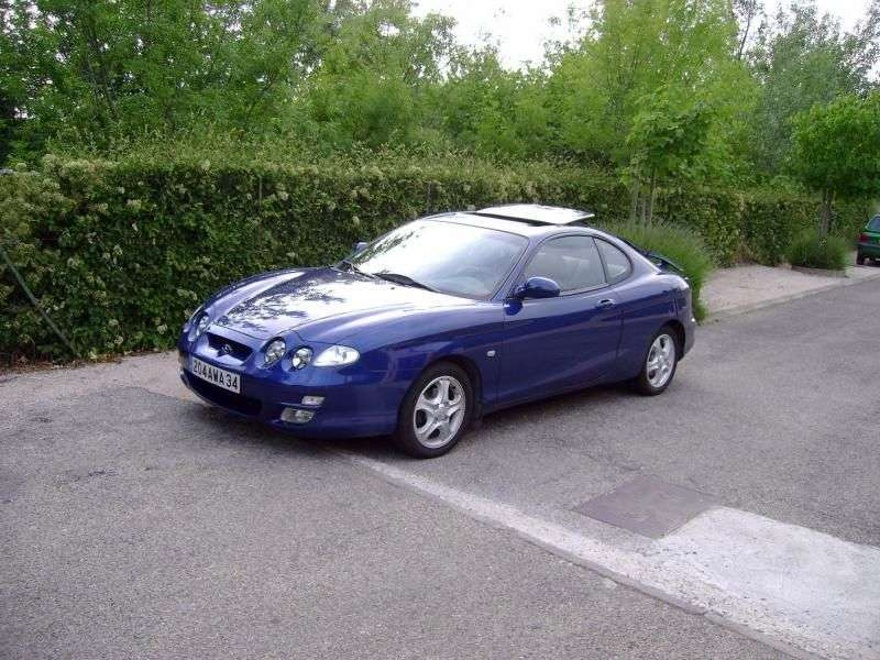 Hyundai Coupe RD [restyling] coupe 2.0 MT (1999–2001)