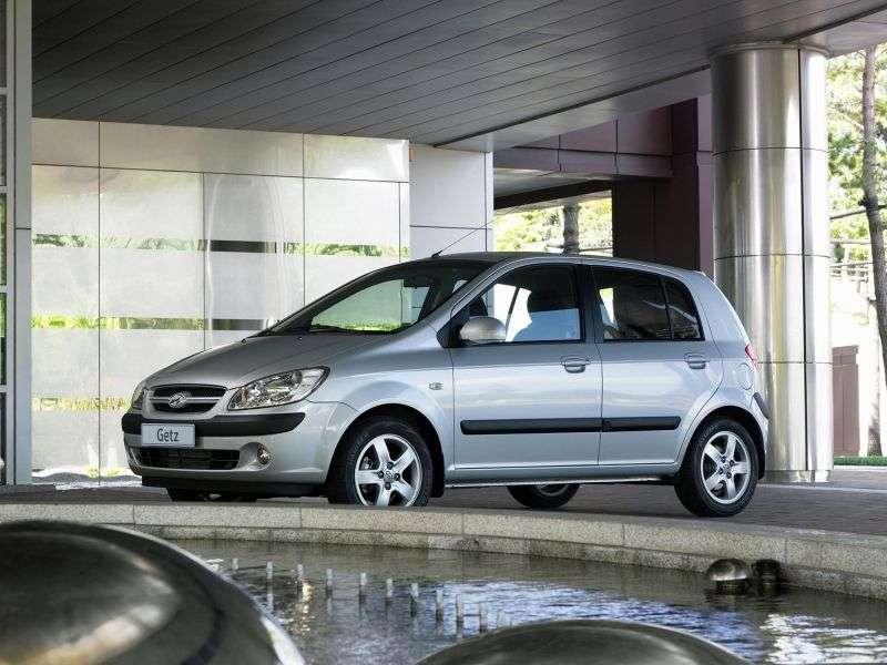 Hyundai Getz 1st generation [restyling] 5 bit hatchback 1.5 CRDi MT (2005–2011)