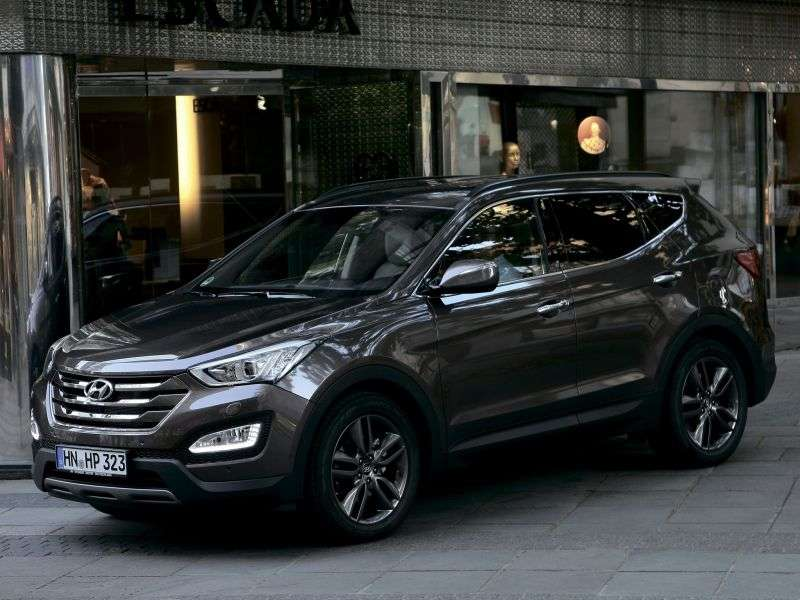 Hyundai Santa Fe DMcrosover 5 dv. 2.2 CRDi AT 4WD High tech (2013) (2012 – current century)