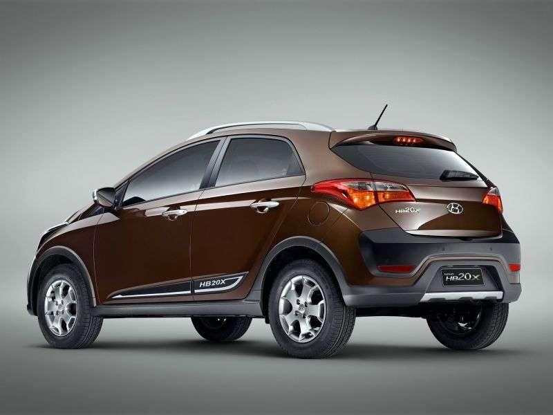 Hyundai HB20 1st generation X MT MT crossover (2013 – n.)