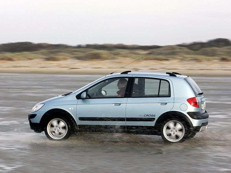 Hyundai Getz 1st generation [restyling] Cross hatchback 5 dv. 1.4 MT (2005–2008)