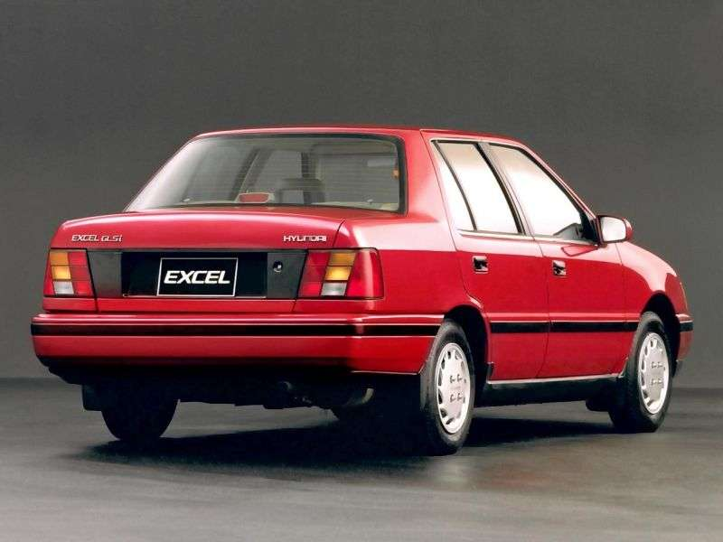 Hyundai Excel X2sedan 1.3 MT (1989–1991)