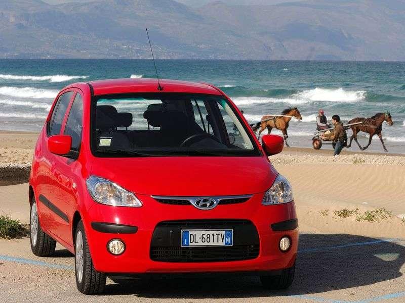 Hyundai i10 1st generation hatchback 1.2 AT (2007–2009)