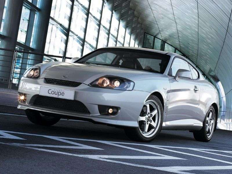 Hyundai Coupe GK F / L [restyling] Coupe 2.0 AT (2005–2007)