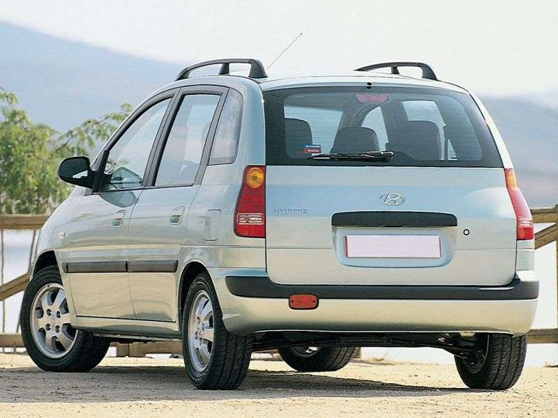 Hyundai Lavita 1st generation 5 door minivan 1.8 AT (2001–2005)