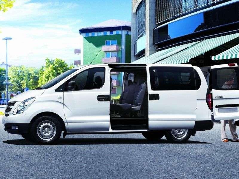 Hyundai iLoad van pierwszej generacji 2.5 CRDi MT (2007 obecnie)