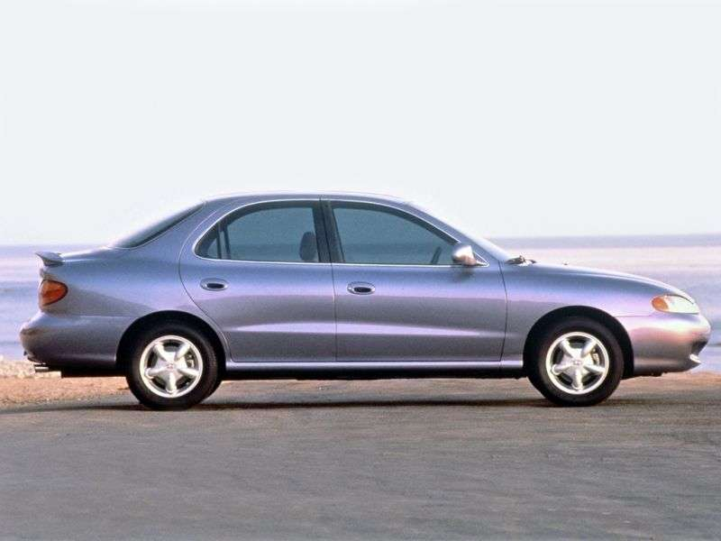 Hyundai Lantra J2sedan 2.0 MT (1997–1998)
