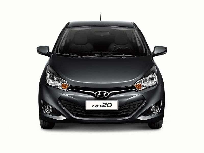 Hyundai HB20 1st generation hatchback 1.6 AT (2012 – n.)