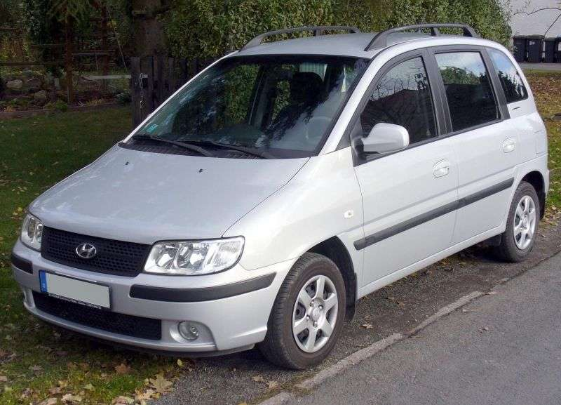 Hyundai Matrix 1st generation [restyled] 1.8 MT minivan (2005–2008)