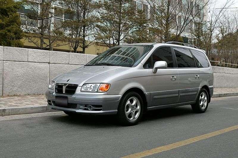 Hyundai Trajet XG 1st generation 2.7 AT minivan (1999–2004)