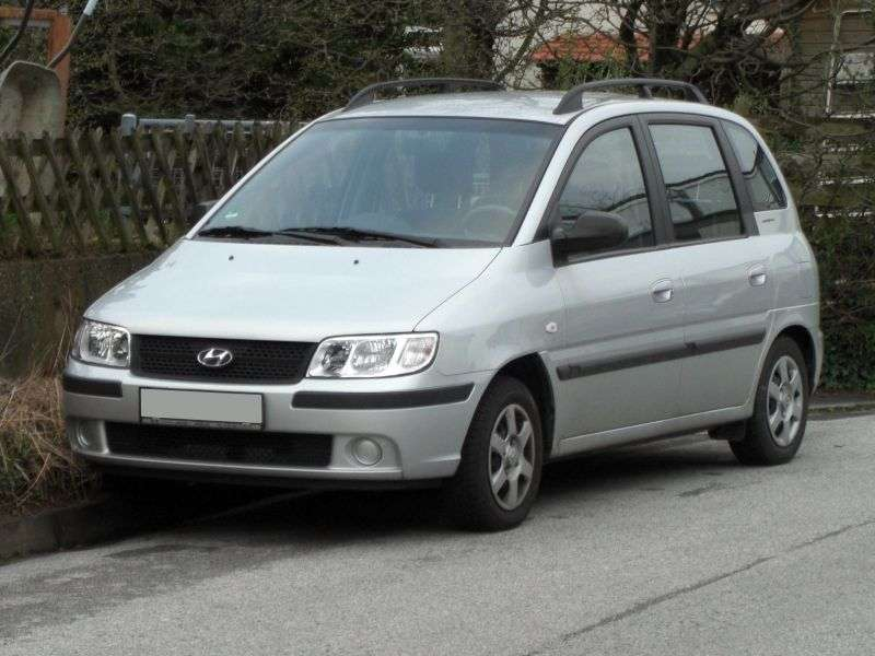 Hyundai Matrix 1st generation [restyled] minivan 1.6 MT (2005–2008)