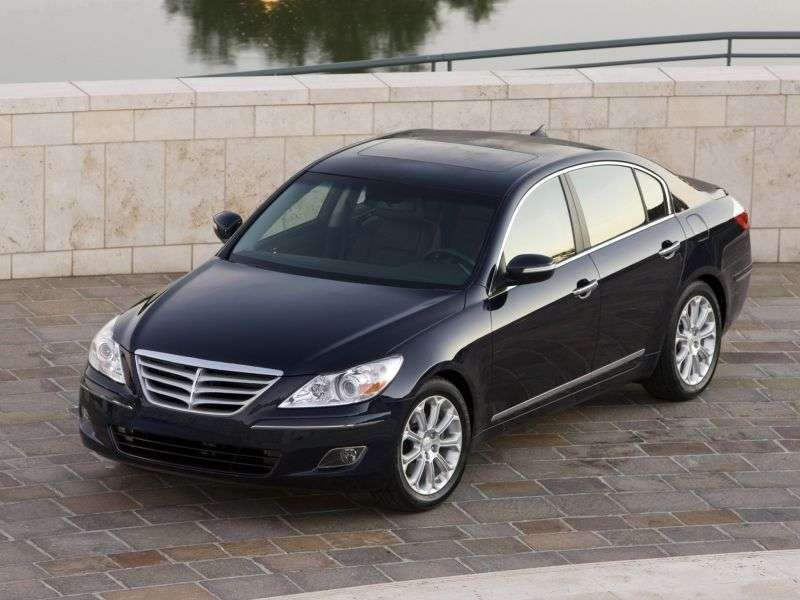 Hyundai Rohens 1st generation sedan 3.8 AT (2011 – n. In.)