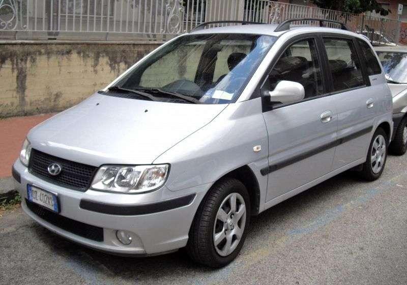 Hyundai Matrix 1st generation [restyled] minivan 1.5 CRDi MT (2006–2008)