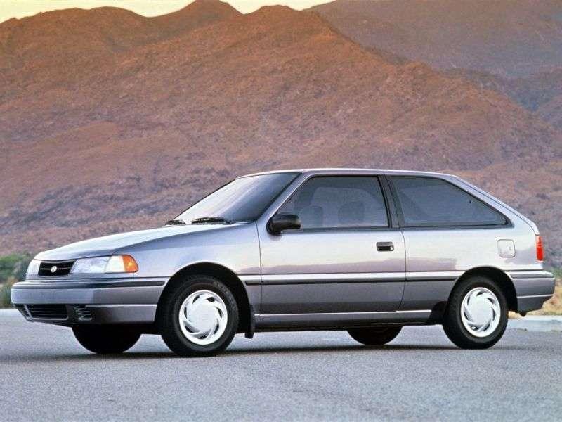 Hyundai Excel X2 [restyling] 3 bit hatchback 1.5 MT (1992–1994)