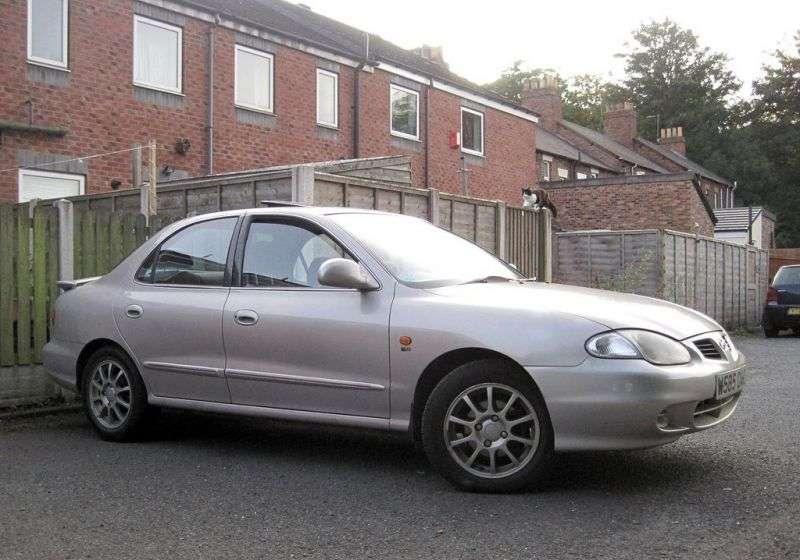 Hyundai Lantra J2 [restyled] sedan 1.6 AT (1998–2000)