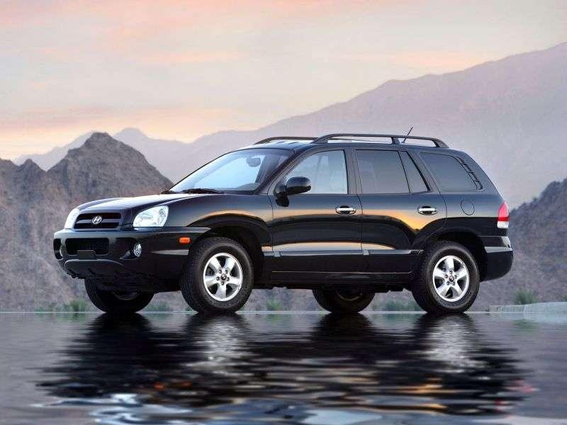 Hyundai Santa Fe Classic [restyled] crossover 2.0 CRDi AT 4WD AT3 (2007 – n.)