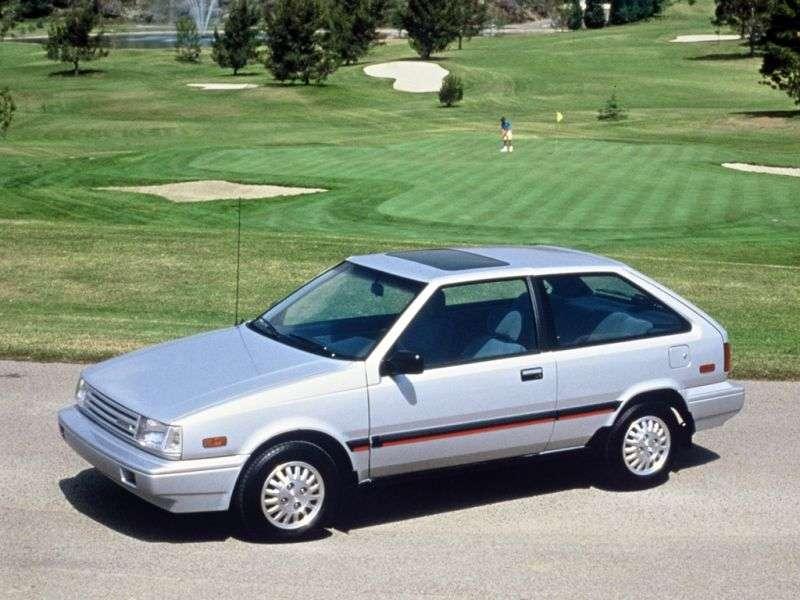 Hyundai Presto X1hatchback 1.3 MT (1985–1989)