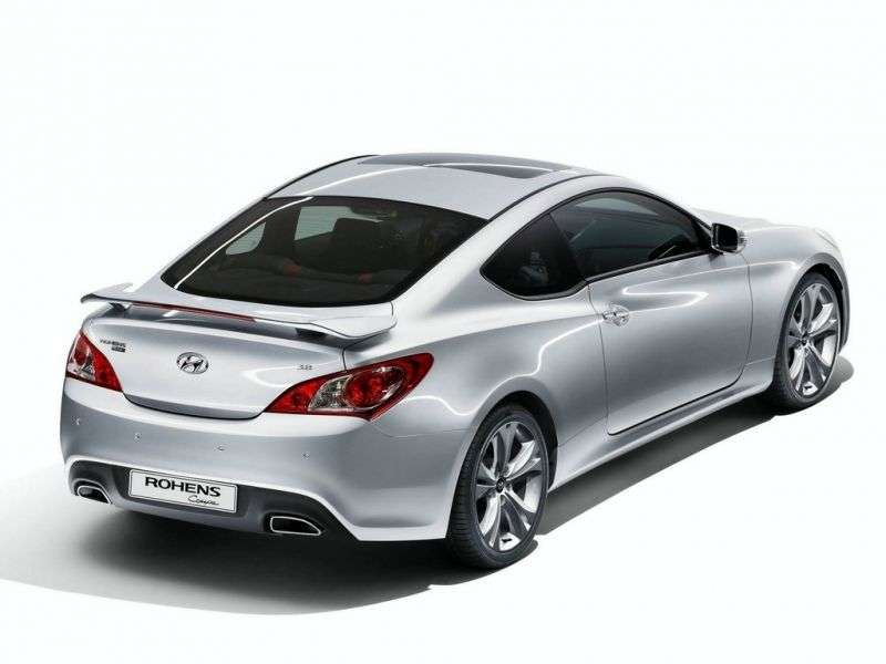 Hyundai Rohens 1st generation coupe 3.8 Shiftronic (2009 – n.)