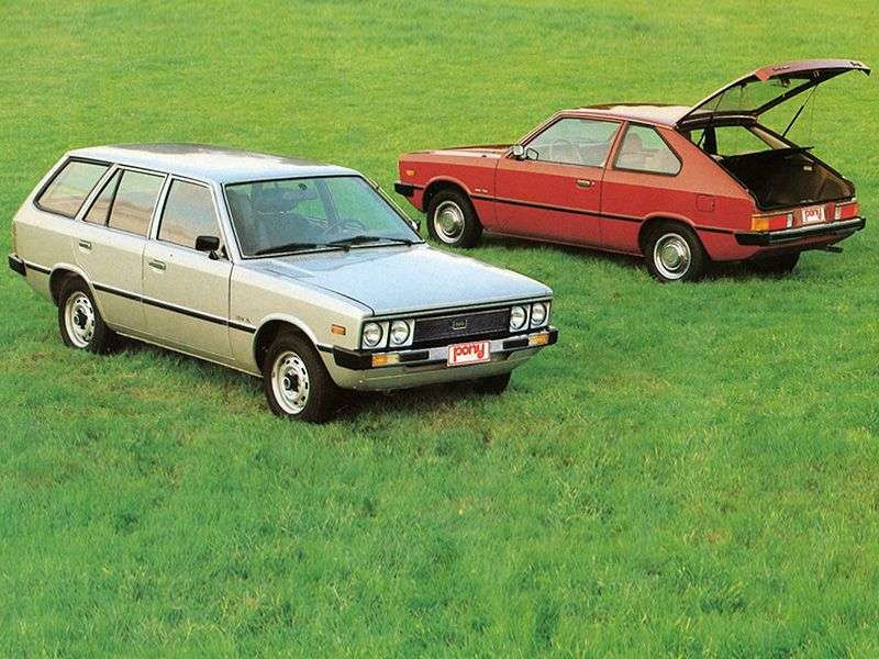 Hyundai Pony 1st generation 1.4 MT wagon (1977–1982)