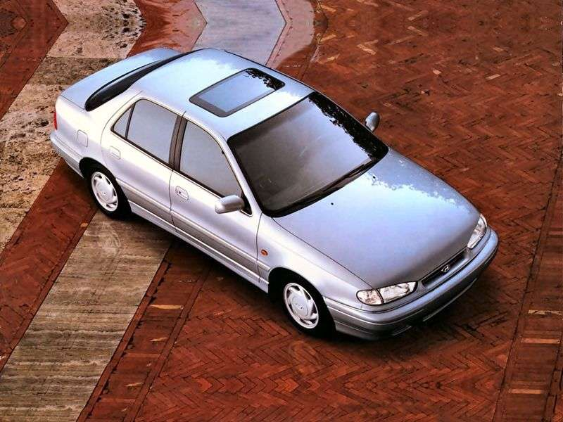 Hyundai Lantra J1 [restyling] 1.6 MT sedan (1993–1995)