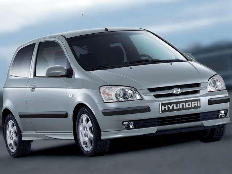 Hyundai TB 1 generation hatchback 3 dv. 1.3 AT (2002–2004)