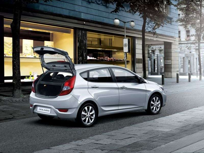 Hyundai Solaris 1st generation hatchback 1.6 MT Dynamic (2012) (2011 – n.)