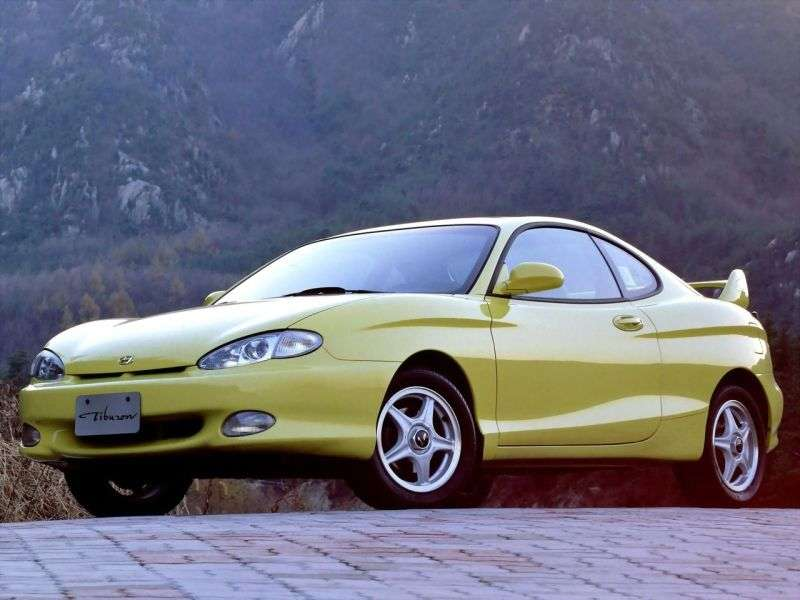 Hyundai Tiburon RC Coupé 2.0 AT (1996–1999)