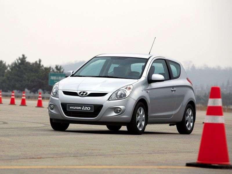 Hyundai i20 1st generation hatchback 3 dv. 1.6 MT (2009–2010)