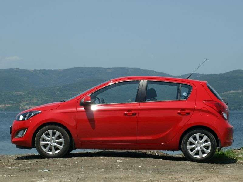 Hyundai i20 1st generation [restyled] hatchback 1.1 CRDi MT (2012 – n.)