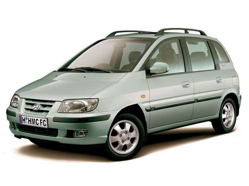 Hyundai Matrix 1st generation minivan 1.6 MT (2001–2005)