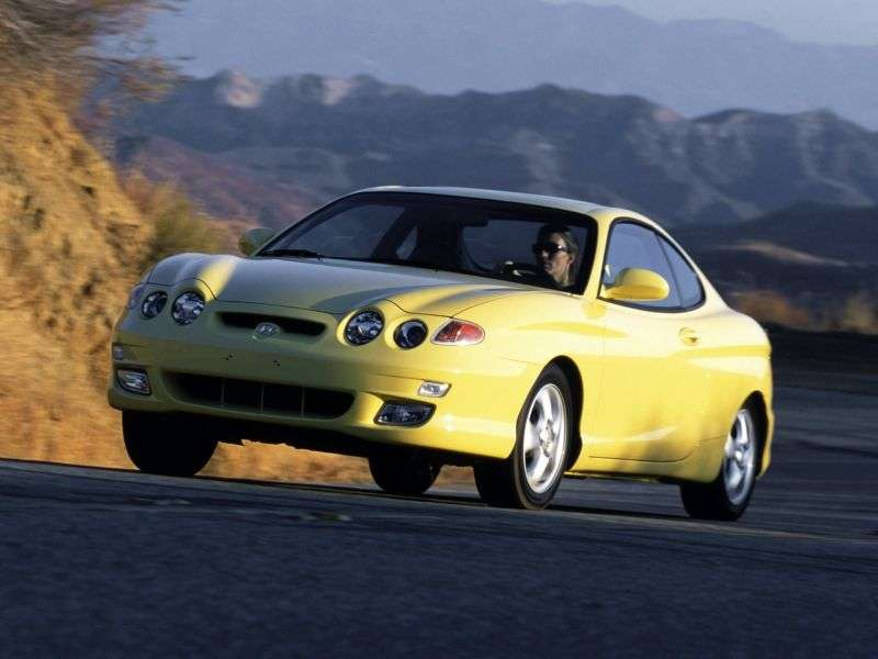 Hyundai Tiburon RD [restyling] Coupe 2.0 AT (2000–2001)