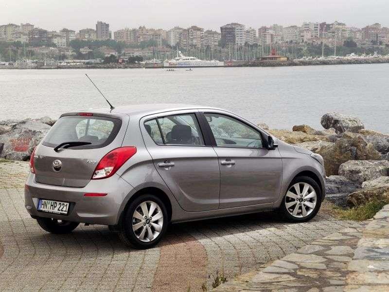 Hyundai i20 1st generation [restyling] hatchback 1.25 MT (2012 – n.)